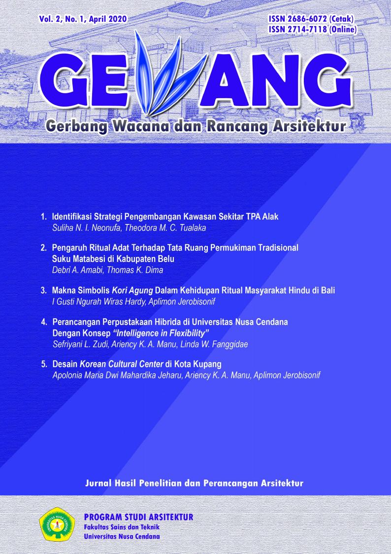 Jurnal Gewang Volume 2 Nomor 1 April 2020 Universitas Nusa Cendana