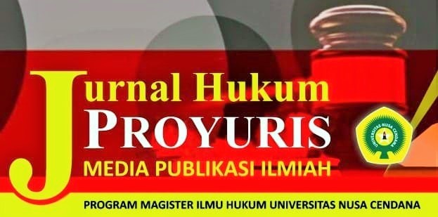 JURNAL HUKUM PROYURIS